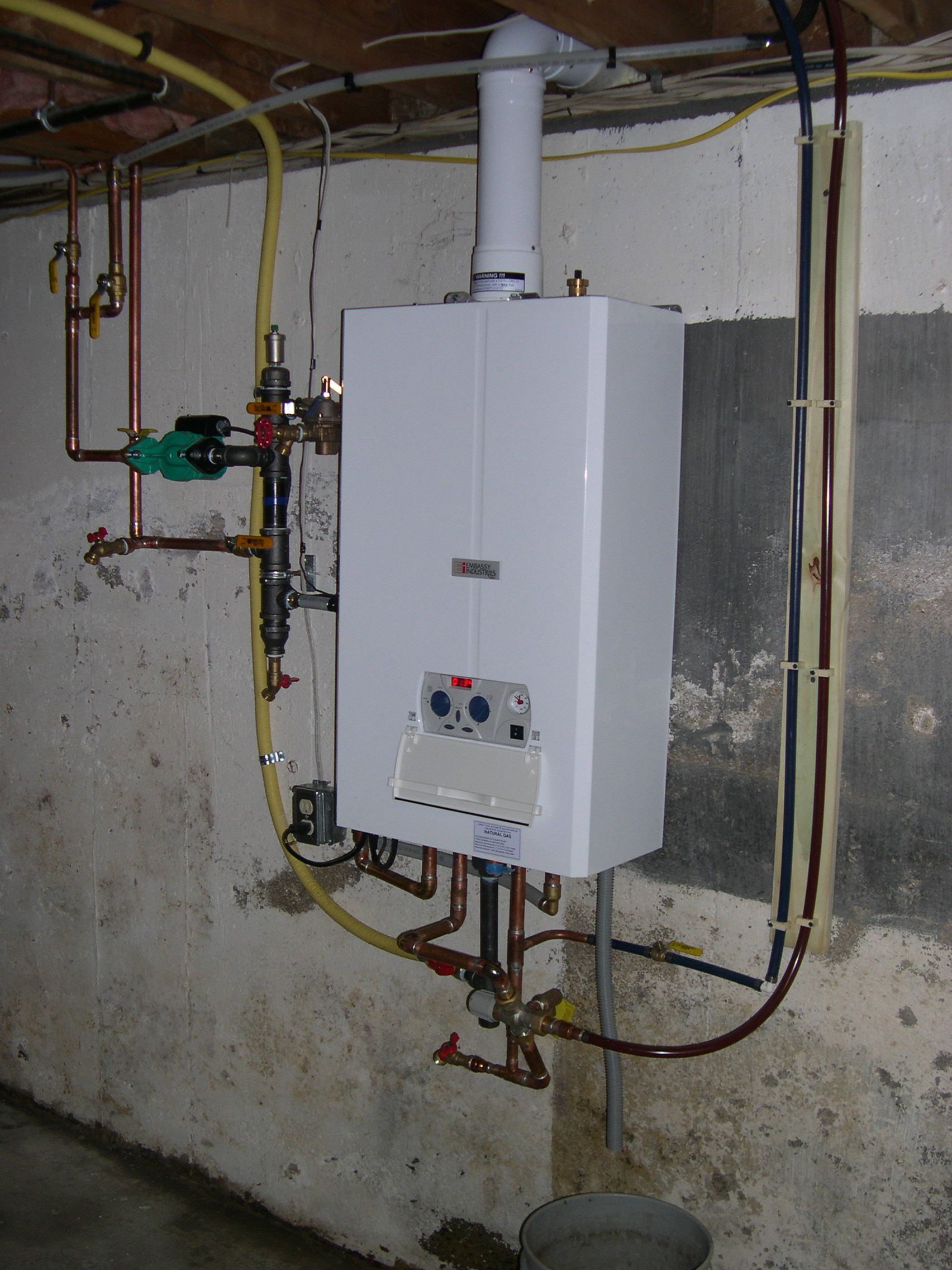 Oil gas installation service natural liquid propane for Best propane heating systems