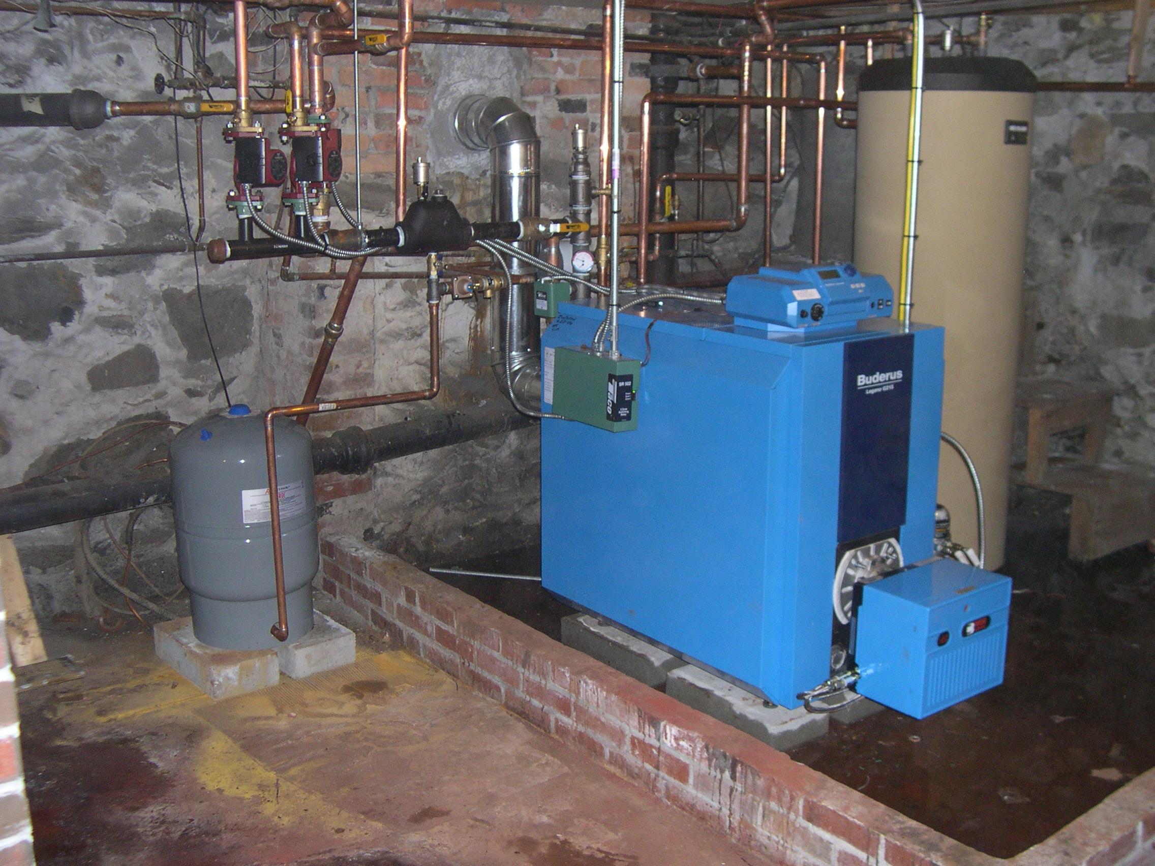 Oil Boiler  Oil Boiler Piping